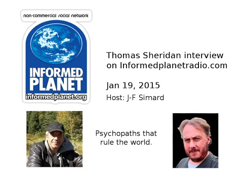 Thomas Sheridan interview on Informed Planet Radio