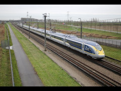 De Eurostar Velaro e320 over de HSL / The Eurostar Velaro on Dutch Hispeed Rail