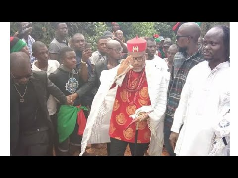 Download Nnamdi Kanu ran away during python dance to live and fight another day