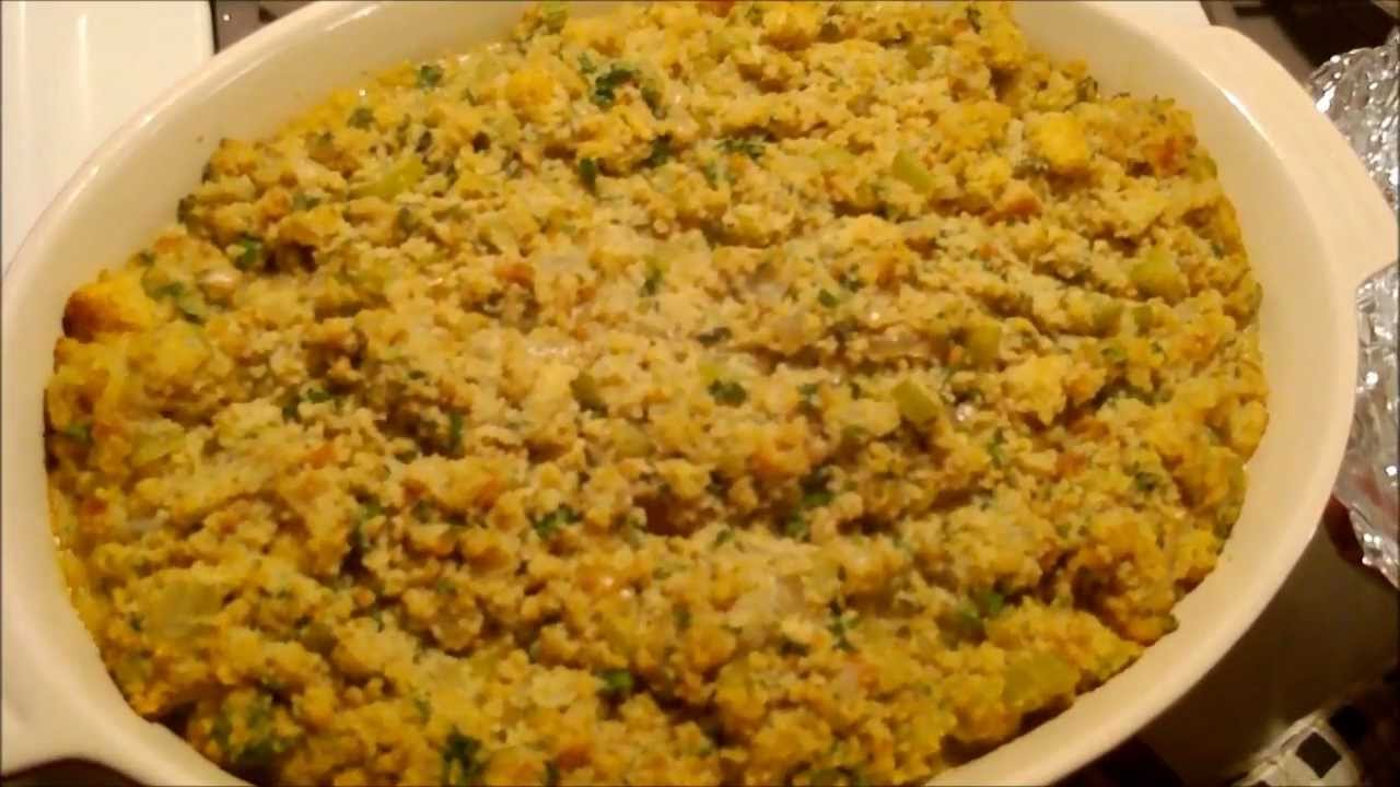 Soul Food Cornbread Dressing Recipe