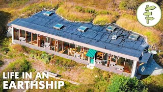 Engineer Living in a Beautiful Earthship Shares Valuable Insight! Video