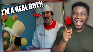 CHEF PEE PEE BECOMES A HUMAN! | SML Movie: Bowser Junior's Big Vacation Reaction!