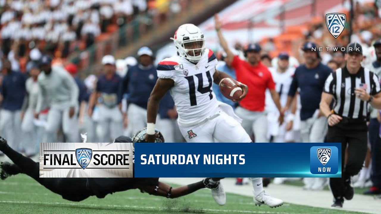 Uofa Football Score >> Highlights Arizona Football Rallies Late But Falls To Hawaii In Season Opening Game