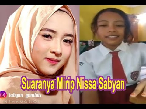 Suaranya Mirip Nissa Sabyan, Vidio Anak SD ini Nyanyi Jadi Trending | Deen Assalam