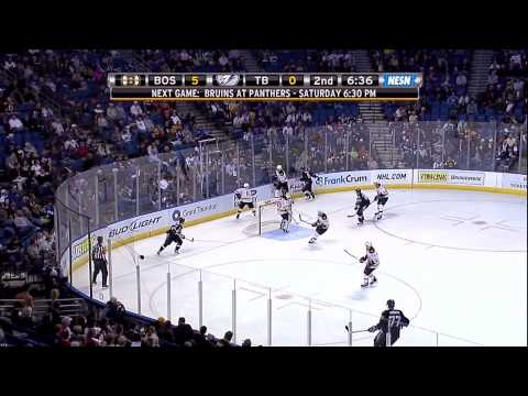 Zdeno Chara goes after Steve Downie 2/11/10 1080p HD