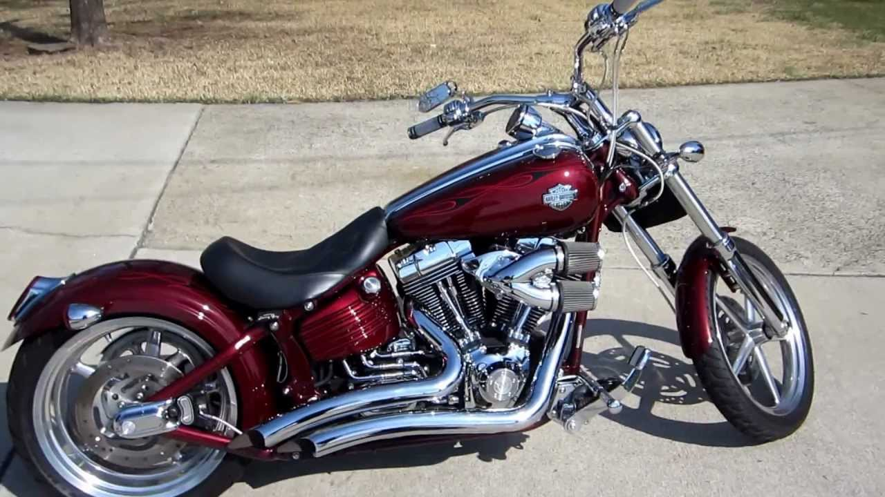 2008 harley davidson rocker c for sale marietta ga youtube. Black Bedroom Furniture Sets. Home Design Ideas