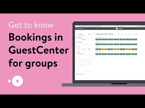Bookings In GuestCenter For Groups