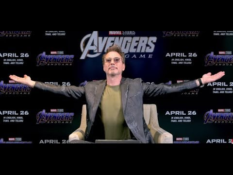 India talks to Robert Downey Jr | Avengers: Endgame | In Cinemas Now