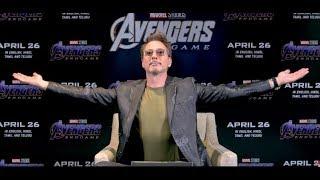 India talks to Robert Downey Jr   Avengers: Endgame   In Cinemas Now