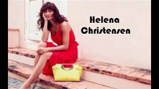 Helena Christensen family