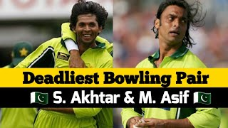 Agressive bowling by Shoaib akhter and Asif | England all out on 166 by pakistan ( 2006 ) | 2nd odi