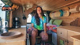 Solo Female Van Life At 23 - DIY Campervan Built During Quarantine