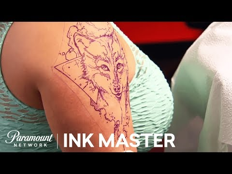 Elimination Tattoo: Watercolor - Ink Master, Season 8