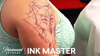 Video Elimination Tattoo: Watercolor - Ink Master, Season 8 download MP3, 3GP, MP4, WEBM, AVI, FLV Agustus 2018