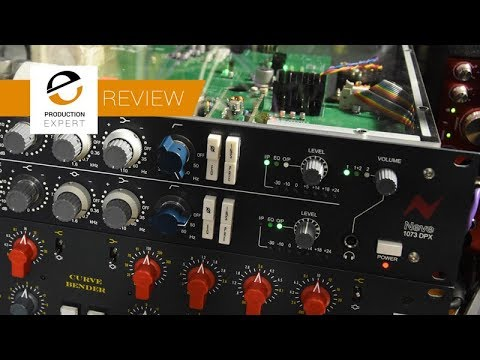 Review - Neve 1073 DPX Twin Channel Pre Amp And EQ