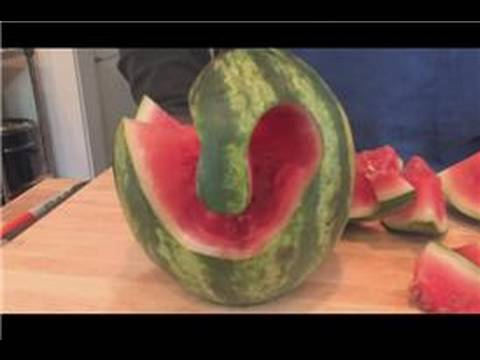Cooking Lessons How To Carve A Watermelon Youtube