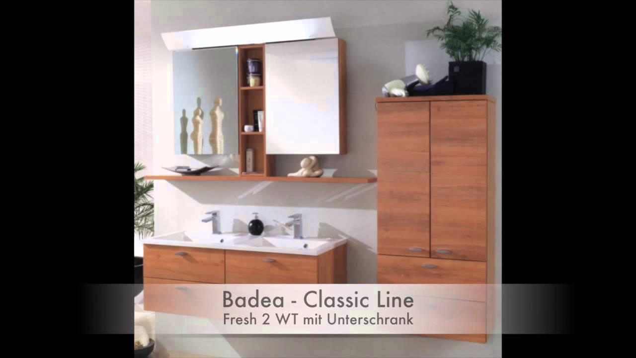 Badmöbel - Badea Classic Line - YouTube