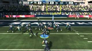 Football-NFL-Madden 15 :: Game Winning Drive? :: SCeahawks Vs. Eagles - Online Gameplay XboxOne