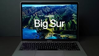 macOS Big Sur: Completely New Look & Features!