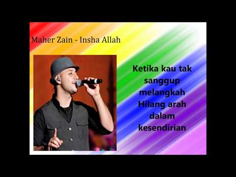 Karaoke Insha Allah Maher Zain Versi Indonesia Video Lirik