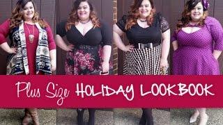 Plus Size Holiday Fashion LookBook Thumbnail