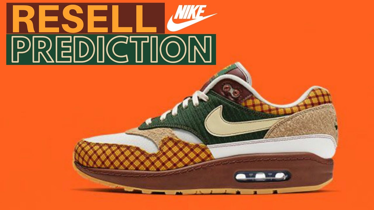 the best attitude 726d3 ebec8 Nike Air Max 1 Susan Missing Link   Design Info   Resell Prediction