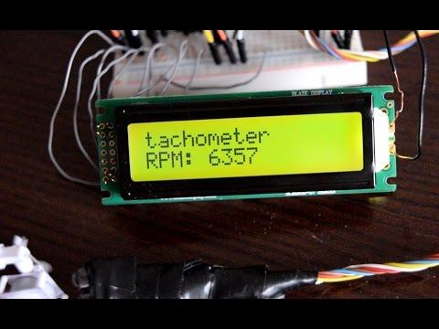 Paper engines + arduino-based tachometer / Бумажные двигатели + тахометр на базе Arduino