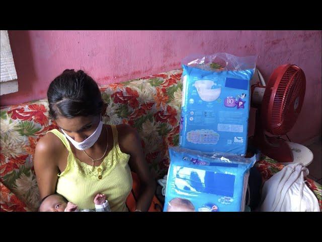 PBPE TV ENTREGA 2 PACOTÃO DE FRALDAS EM ITAMBÉ