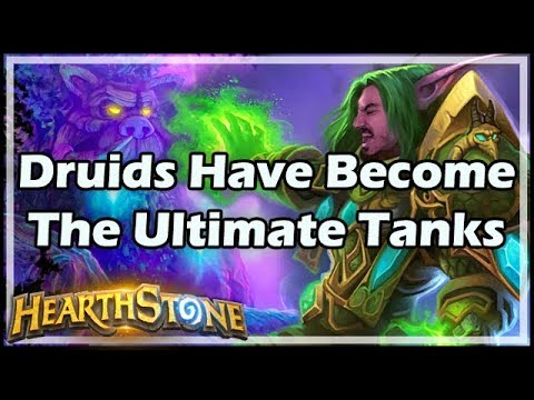 [Hearthstone] Druids Have Become The Ultimate Tanks
