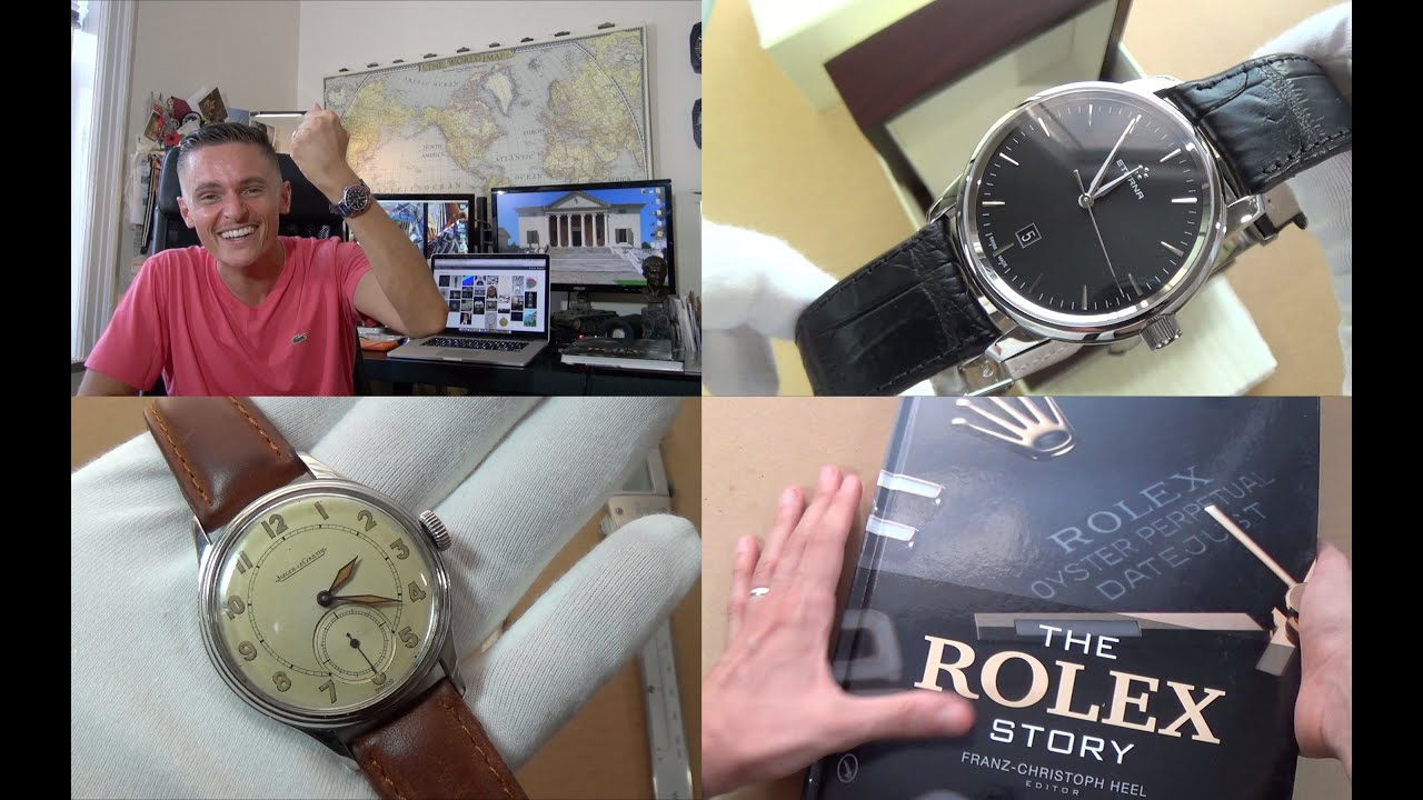 c1964 Eterna-matic men's vintage watch with calendar - YouTube