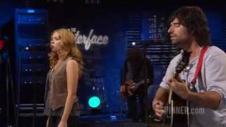"Pete Yorn and Scarlett Johansson performing ""I Don't Know What To Do"" from the Break Up album"