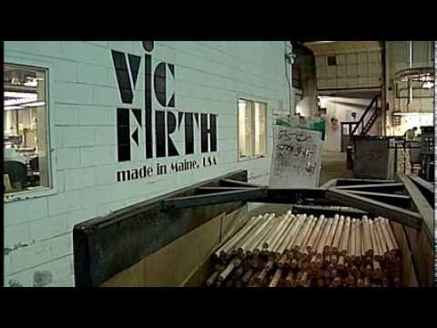 Vic Firth Drumsticks: Made in Maine