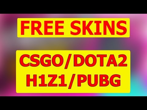 Free Gifts For CSGO/DOTA2/H1Z1/PUBG | Receive And You The SKINS ♥ | CODE - PLMR10