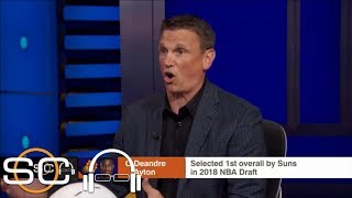 Tim Legler explains how 2018 No. 1 draft pick Deandre Ayton will fit with Suns | SC with SVP | ESPN