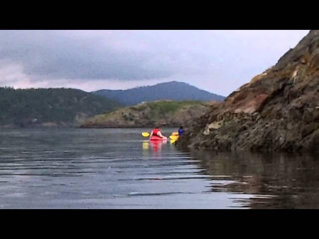 Kayaking Frost Island