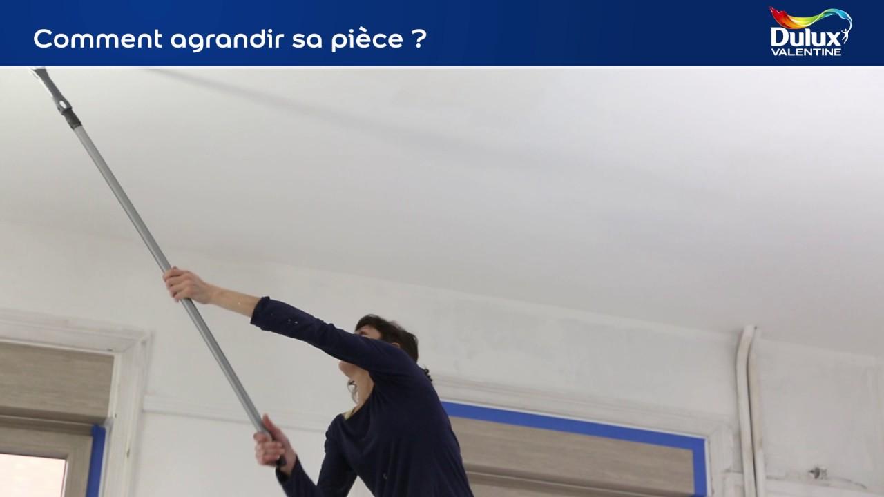 comment agrandir sa pièce ? - youtube - Comment Agrandir Une Piece Avec De La Peinture
