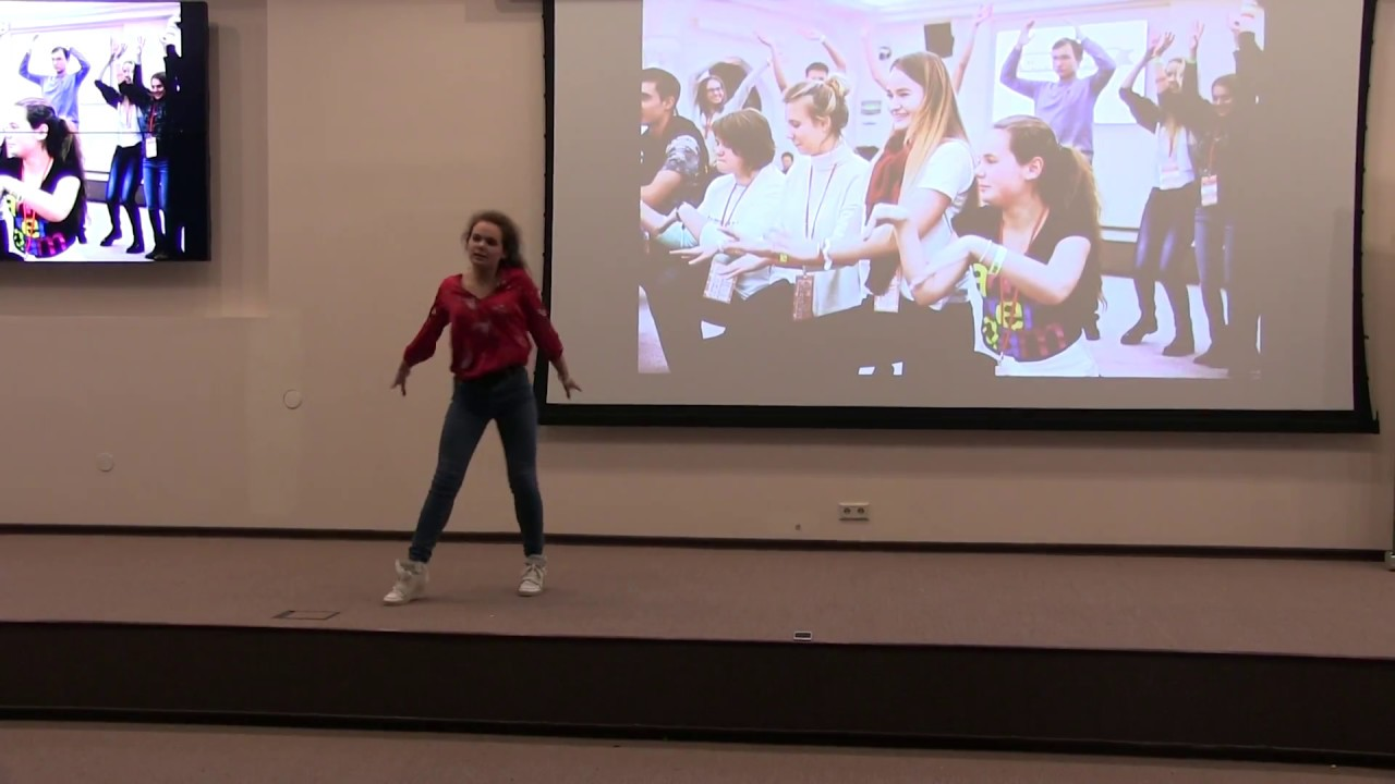Танец осенний этюд видео