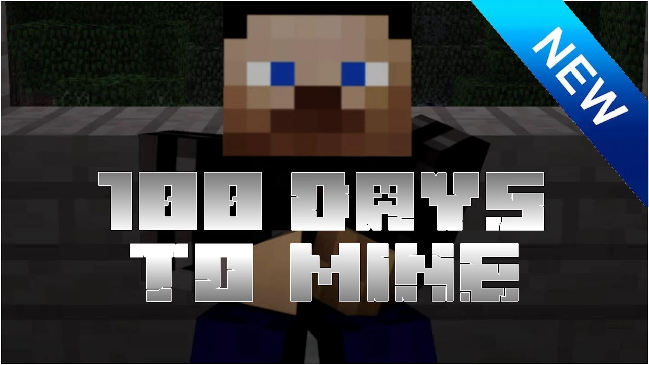 100 Days To Mine Trailer TV SHOW HELP WANTED MINECRAFT MACHINIMA ANIMATED ANIMATION