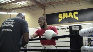 Julian J Rock Williams Gets a Boost from SNAC Team for Title Shot