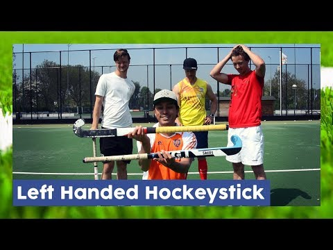 Left Handed Hockeystick - Field Hockey Gear | HockeyheroesTV