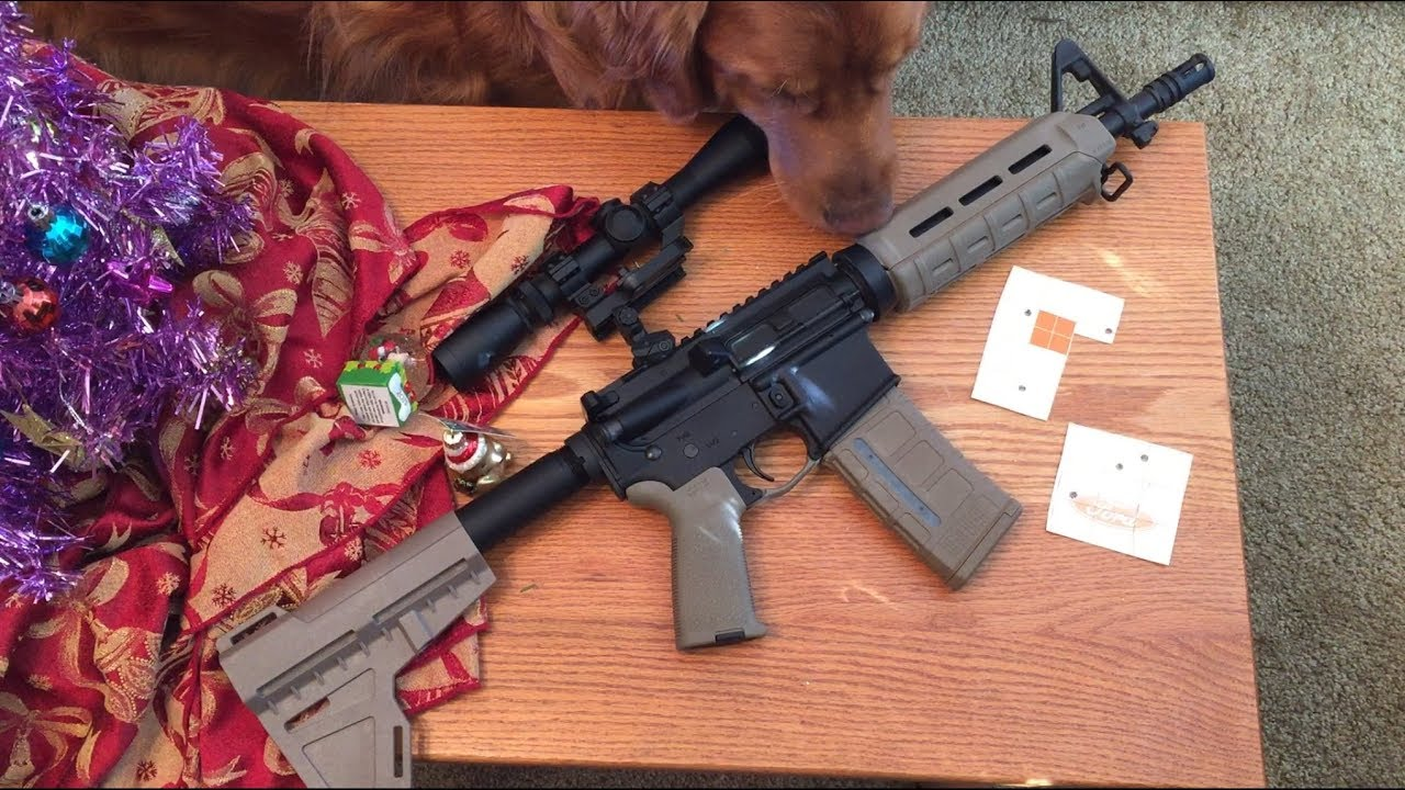 PSA AR15 Budget AR Pistol Build $379, FDE MagPul  You've got
