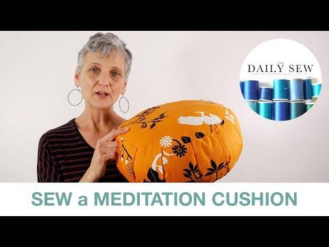 How to Sew a Meditation Cushion