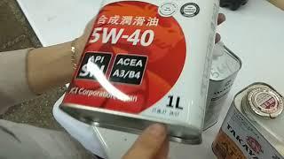 Takayama 10W-40, 5W-40, 5W-30 и Takayama ATF - приемка в лаборатории УРЦТЭиД