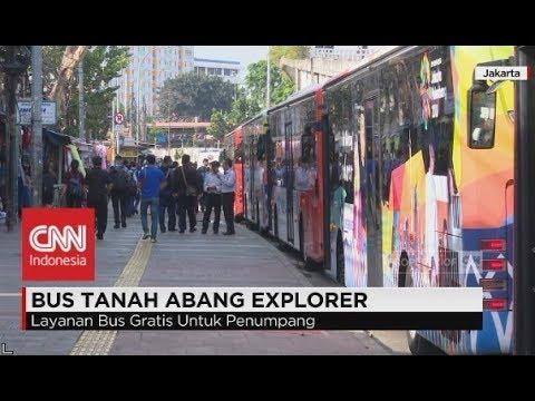 Antusias! Warga Jakarta Jajal Bus Tanah Abang Explorer