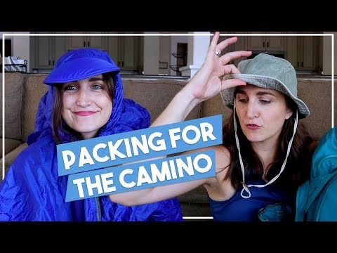 Light Packing List for El Camino De Santiago