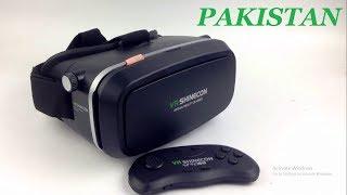 VR Shinecon Virtual Reality 3D Glasses Unboxing Review Urdu Hindi