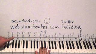Piano Lesson High School Confidential Tutorial WITH BOTH PIANO SOLOS! 20th Hired Request