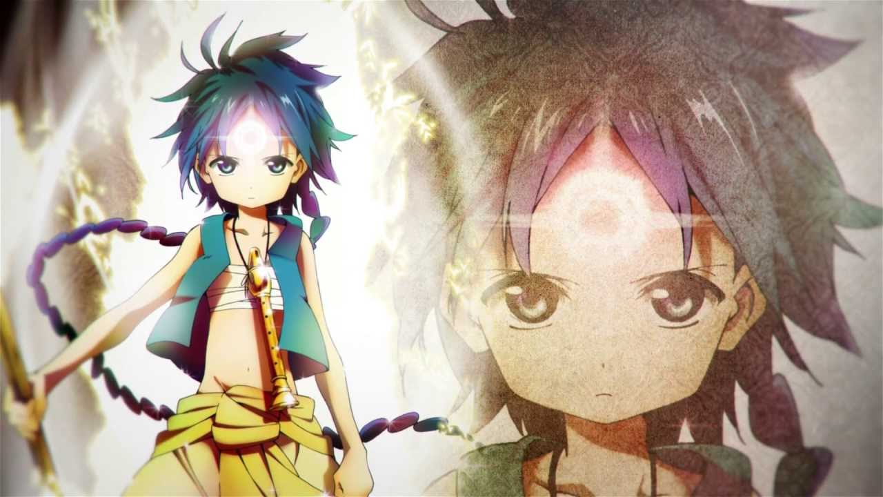 Magi (Anime) -- Trailer HD