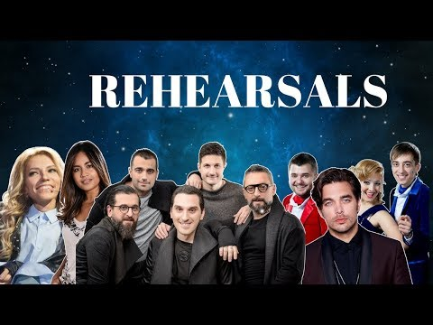 Eurovision 2018 Rehearsals - Russia, Moldova, Netherlands, Australia & Georgia (Press Center)