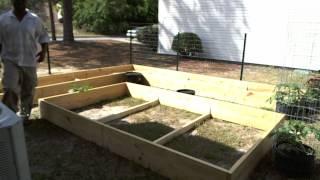 How To Build Raised Planter Box Apartment Garden Boxes Part 1